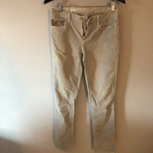 GAP Light Blue/Gray Corduroy Pants Straight Fit